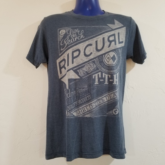 Rip Curl Surf Shirt Super Soft Detailed Graphics